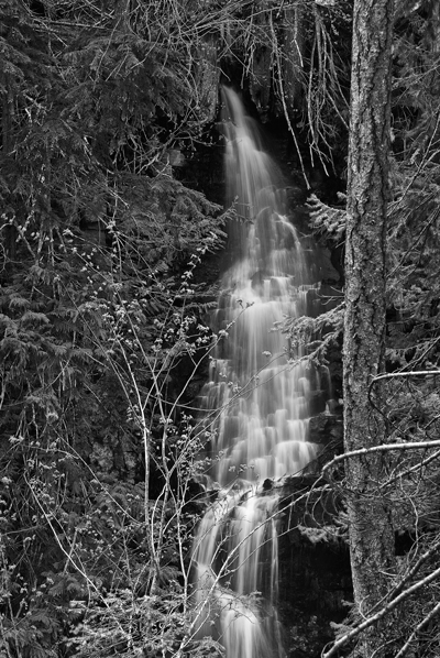 Waterfall At the End of the Agnes Gorge Trail
