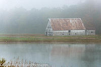 Foggy Barn, West Virginia